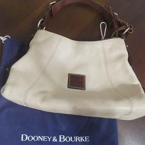 Dooney and Bourke pebbled leather shoulder bag